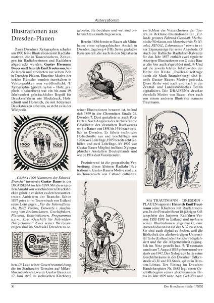 Illustrationen aus Dresden-Plauen
