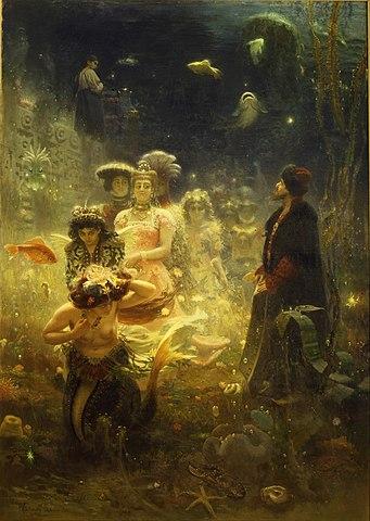И.Е.Репин. «Садко». 1876