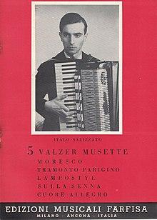 Stampa del 1964 delle Edizioni Musicali Farfisa Milano-Ancona