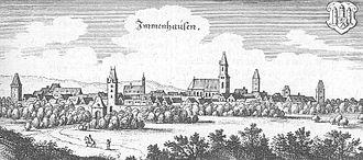 Immenhausen - Immenhausen, 1655 (Topographia Hassiae)