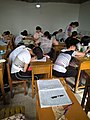 In a extra-curricular tuition class Tieling High School Class 11 Grade 2018 21.jpg