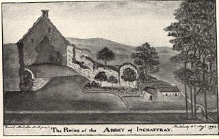 Inchaffray Abbey human settlement in United Kingdom