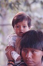 Indios im Reservat Maraiwatséde der Xavantes.jpg