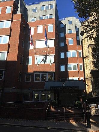 Embassy of Indonesia, London - Image: Indonesian Embassy London 2018