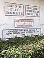 Inspirational Quotes on Wall - Holy Ghost Catholic Mission - Bagamoyo - Tanzania (8804407843).jpg