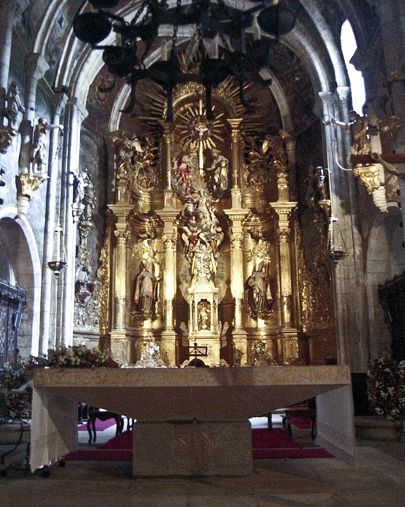 Interior, Catedral da Asuncion, Mondoñedo, Galicia 4.jpg
