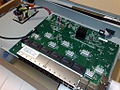 Internals of a Cisco small business SG300-28 28-port Gigabit Ethernet rackmount switch.jpg