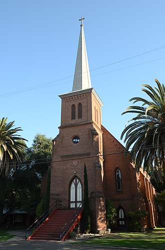 California Historical Landmarks in Amador County - Image: Ione City Centenary Church