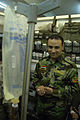 Iraqi Soldier Adminsters IV DVIDS91638.jpg