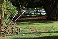 Iron plow on the lawn of Bailey House.jpg