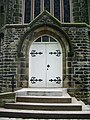 Irwell Vale Methodist Church, Doorway - geograph.org.uk - 796513.jpg
