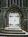 Irwell Vale Methodist Church, Doorway - geograph.org.uk - 796513.jpg