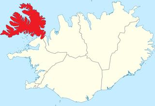 Westfjords Peninsula and region of Iceland