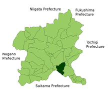 Isesaki Gunma Simple English Wikipedia The Free Encyclopedia - Isesaki map