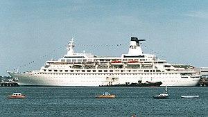 MV Discovery - Island Princess at Station Pier, Melbourne