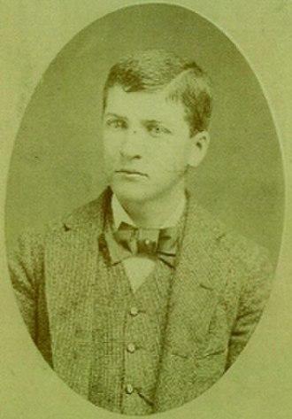 Major Israel McCreight - M.I. McCreight, Age 17, 1883