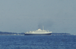 Italian passenger ship Cristoforo Colombo - Cote d'Azur, in May 1962.png