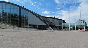 2004 World Junior Ice Hockey Championships - Image: Jäähalli Hameenlinna