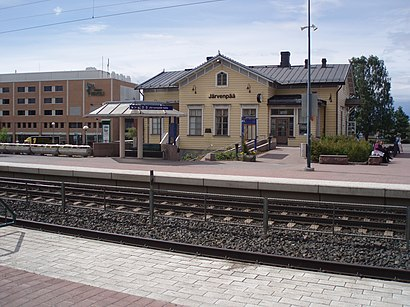 How to get to Järvenpään Asema with public transit - About the place