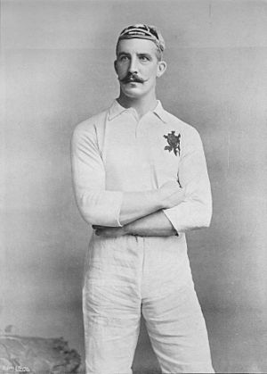 History of the England national rugby union team - J.H. Rogers (1895)