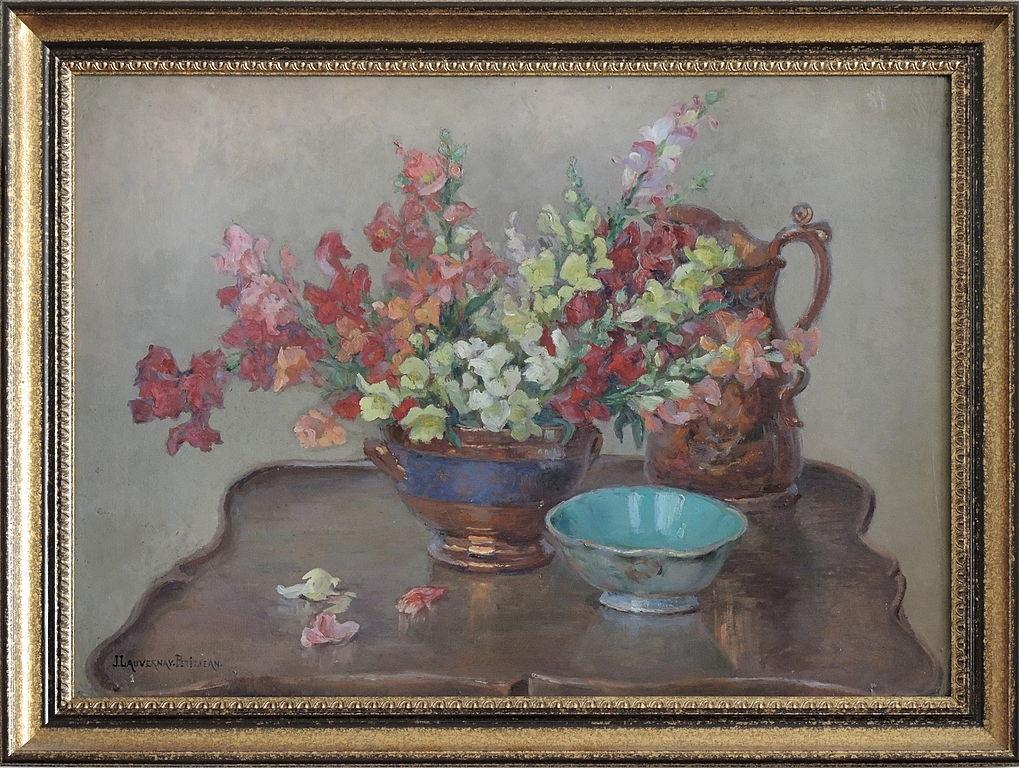 Fichier j lauvernay petitjean painting fleurs cruche - Couper une photo sur paint ...