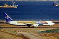 JA767B 1 B767-3Q8ER Skymark A-l (Microsoft c-s) HND 13JAN99 (6741767265).jpg