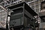 JGSDF Type 12 SSM launcher unit(04-0604, launch mode) generator left rear view at Niconico chokaigi April 28, 2018.jpg