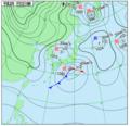 JMA Weather Chart (Japan) 2018-01-22 1800 JST.png