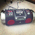 JVC RV-DP200 Kaboom! Box with the beat 94.5fm sticker.jpg