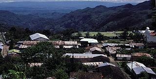 Jacaltenango Municipality in Huehuetenango, Guatemala
