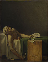 Jacques-Louis David - Marat assassinated - Google Art Project.jpg
