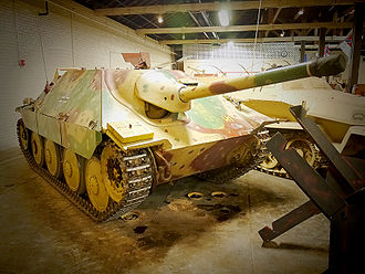 Hetzer - Jagdpanzer 38, exhibited in the Texas Military Forces Museum in Austin, USA.