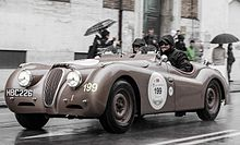 Mille Miglia 2013 - Yasmin LeBon and David Gandy