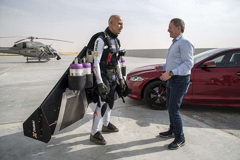 File:Jaguar XJ vs. Jetman - World-First Desert Drag Race (22928448733).jpg