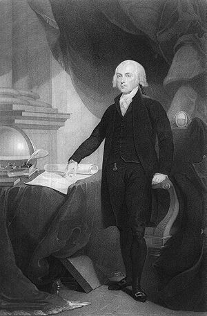 Heights of presidents and presidential candidates of the United States - James Madison, the shortest President, was 5 ft 4 in (163 cm).