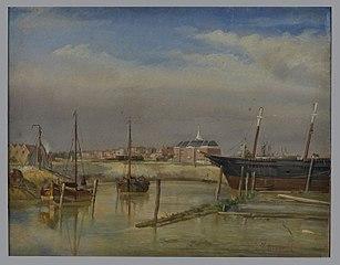 'S Lands Werf, de marinewerf en het Rijksentrepot aan het Boerengat