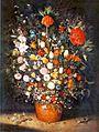 Jan Brueghel the Elder - Bouquet of Flowers in an Earthenware Vase.jpg