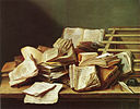 Jan Davidsz de Heem - Books and Pamplets - 1628.jpg