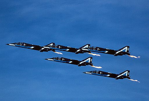 Japan Air Self-Defense Force Blue Impulse T-2