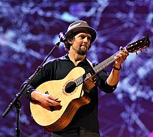 Jason Mraz - the cool, clever, passionate,  musician  with German, English, Slovakian,  roots in 2018