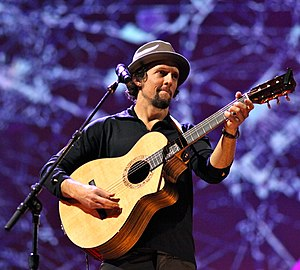 Jason Mraz - Mraz performing in March 2011