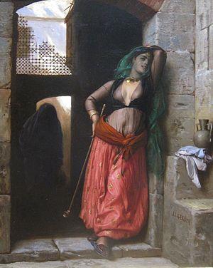Almeh - The Almeh by Jean-Léon Gérôme, 1873