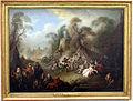 Jean-baptiste pater, una festa campestre, esultanza dei soldati, 1728.JPG