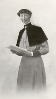 Jean Nellie Miles Walker (1878-1918) nursing sister and army matron