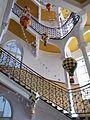 Jelky András School. Staircase. - Rákóczi Square, Budapest.JPG