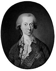 Portræt af Christian VII