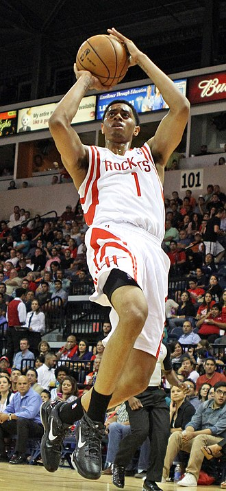 Jeremy Lamb - Lamb with the Rockets during the 2012 preseason