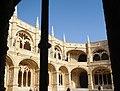 Jeronimos Monastery Cloisters, Belem, Portugal - panoramio (4).jpg