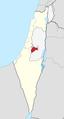Jerusalem hills region in Israel.png