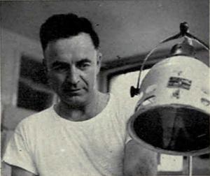 Jim Hunt (trainer) - Hunt from the 1951 Michiganensian